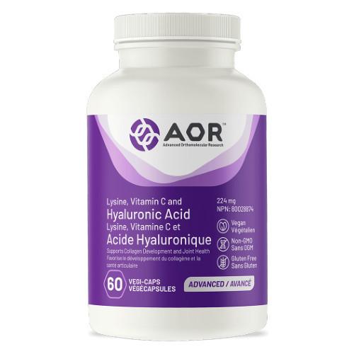 AOR Hyaluronic Acid 60 vegi-capsules