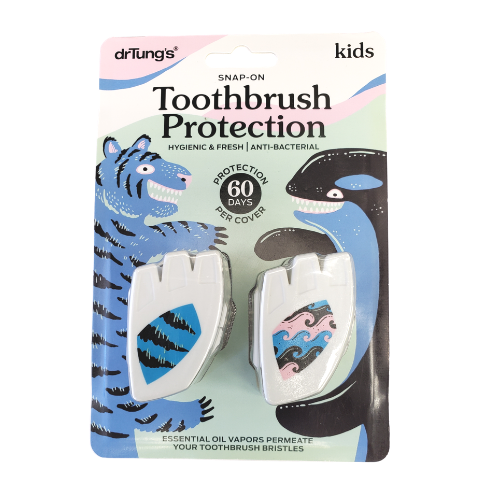 Dr. Tung's Kids Toothbrush Protection Snap-on Cover