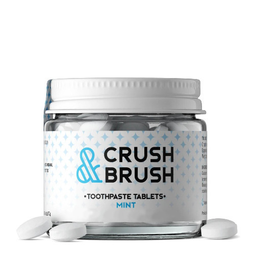 Nelson Naturals Crush & Brush Mint Tablets