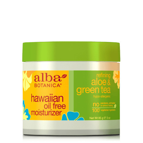 Alba Botanica Natural Hawaiian Oil Free Moisturizer is a smoothing and nourishing