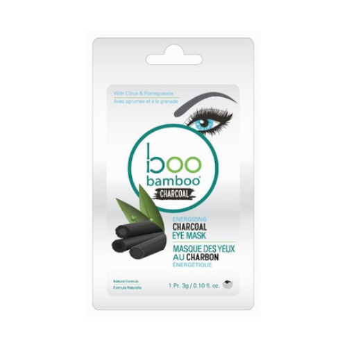 Boo Bamboo Energizing Charcoal Eye Mask