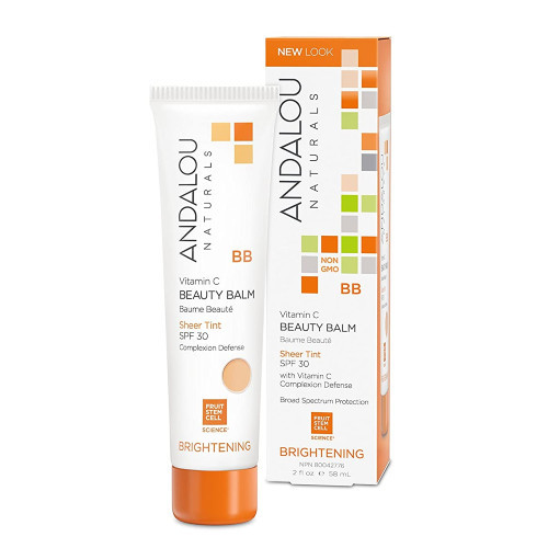 Andalou Naturals Brightening Beauty Balm Sheer Tint SPF 30 Canada