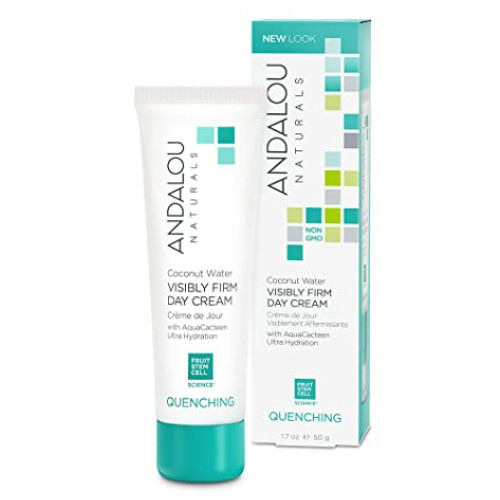 Andalou Naturals Quenching Coconut Water Visibly Firm Day Cream 50 grams Canada