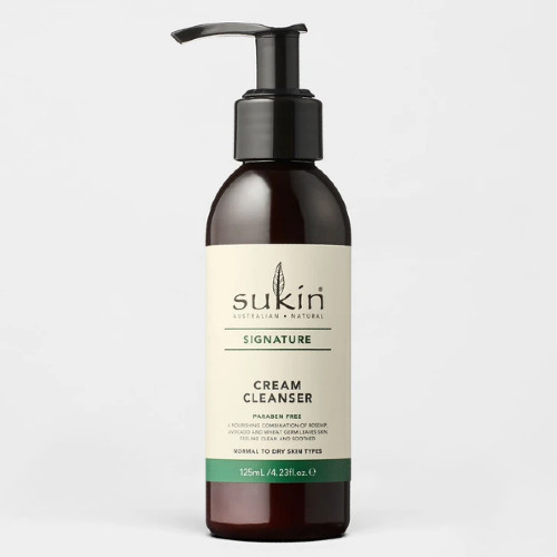 Sukin Cream Cleanser will leave your skin feeling smooth and hydrated with its natural blend of oils.