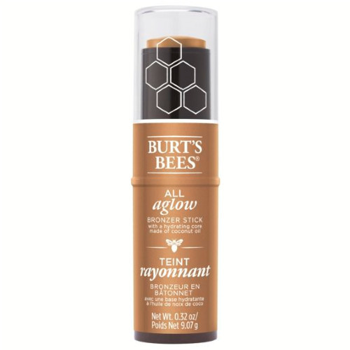 Burt's Bees All Aglow Bronzer Stick Golden Shimmer