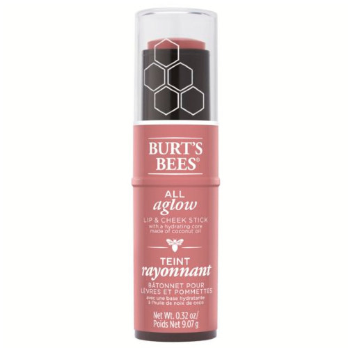 Burt's Bees All Aglow Lip & Cheek Colour Stick Suez Sand