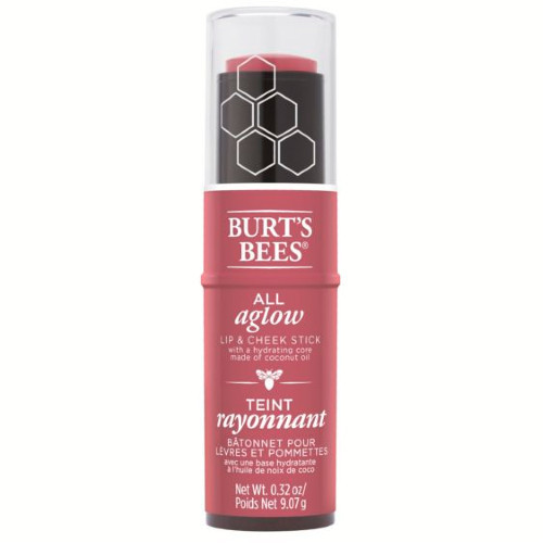 Burt's Bees All Aglow Lip & Cheek Colour Stick Peony Pool