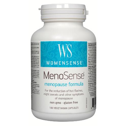 WomenSense MenoSense menopause formula 180 veg caps