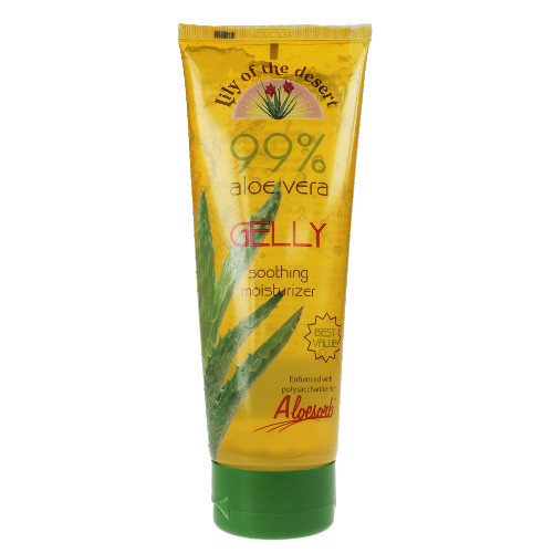 Lily of The Desert Aloe Vera Gelly instantly cools skin while hydrating and moisturizing.