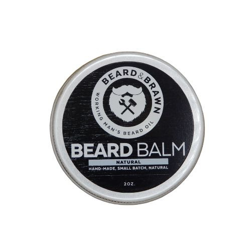 Beard & Brawn Beard Balm Natural