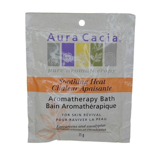 Aura Cacia Aromatherapy Baths Soothing Heat