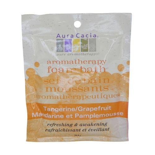 Aura Cacia All-Natural Aromatherapy Foam Bath Tangerine/Grapefruit
