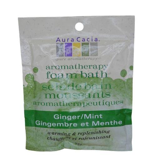 Aura Cacia All-Natural Aromatherapy Foam Bath Ginger/Mint