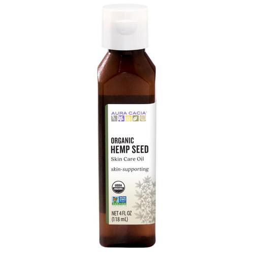 Aura Cacia Organic Hemp Seed Skin Care Oil 118ml