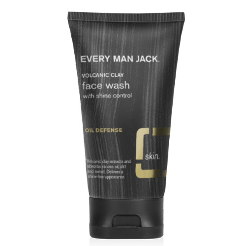 Every Man Jack Volcanic Clay Face Wash is designed to defend and control men's oily skin.