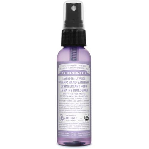 Dr. Bronner's Lavender Organic Hand Sanitizer 59 ml Canada