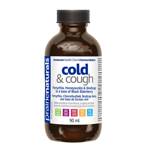 Prairie Naturals Cold & Cough Syrup 90 ml