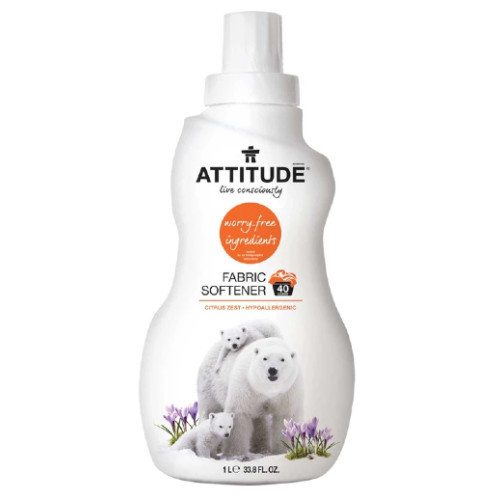 Attitude Fabric Softener is a plant and mineral-based formula
