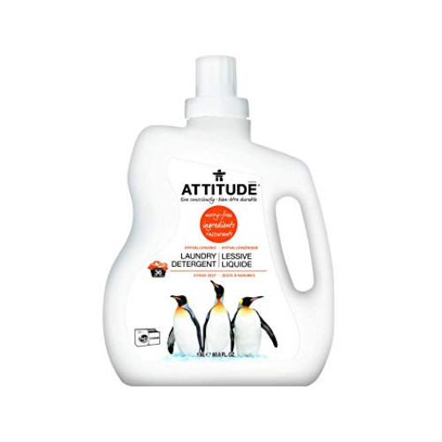Attitude Laundry Detergent is a plant-based and environmental friendly formula
