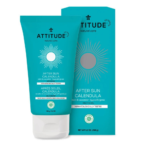 Attitude After Sun Calendula is a soothing and hydrating gel