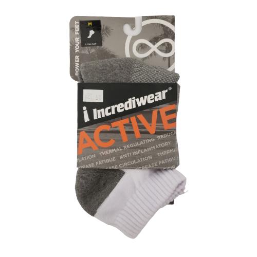 Incrediwear Low Cut Sock Medium