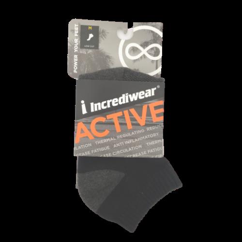 Incrediwear Active Sock Everyday Low Cut Size Medium