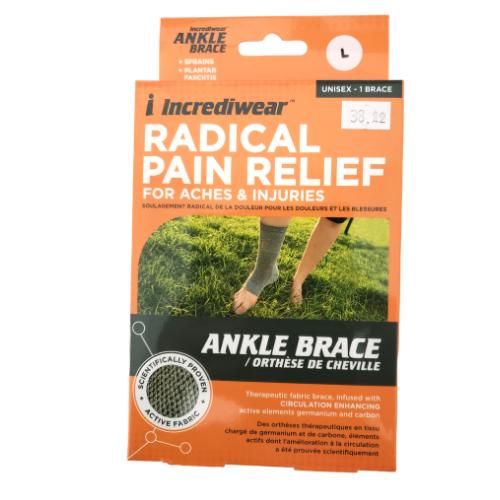 Incrediwear Ankle Brace Grey Large