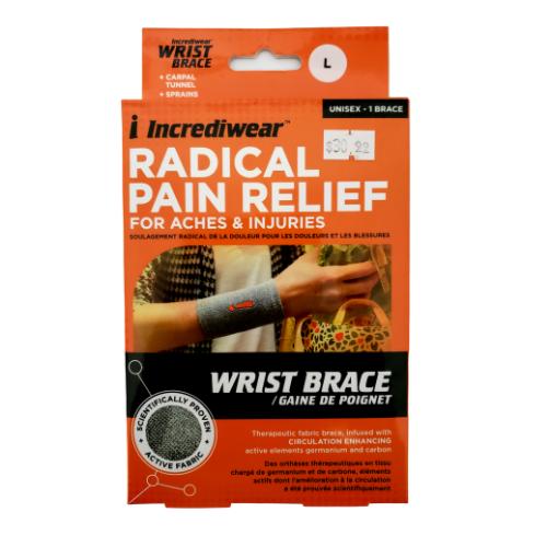 Incrediwear Wrist Brace Unisex Large