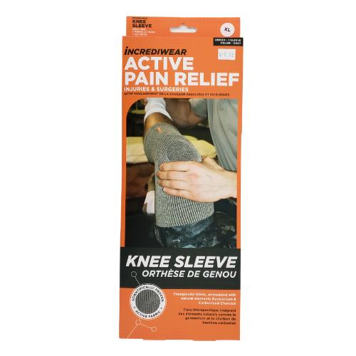 Incrediwear Knee Sleeve Grey Xl