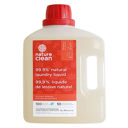 Nature Clean Natural Laundry Liquid, White Lily