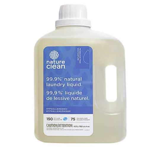 Nature Clean Natural Laundry Liquid, Unscented