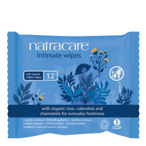 Natracare - Soft Organic Cotton Wipes Intimate Wipes New Look