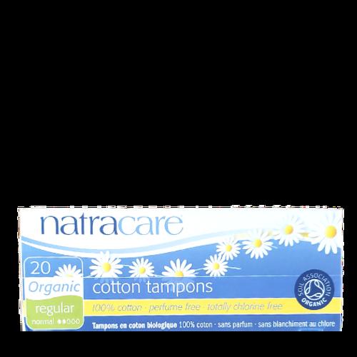 Natracare - Regular Absorbency Organic Cotton Tampons (No Applicator)