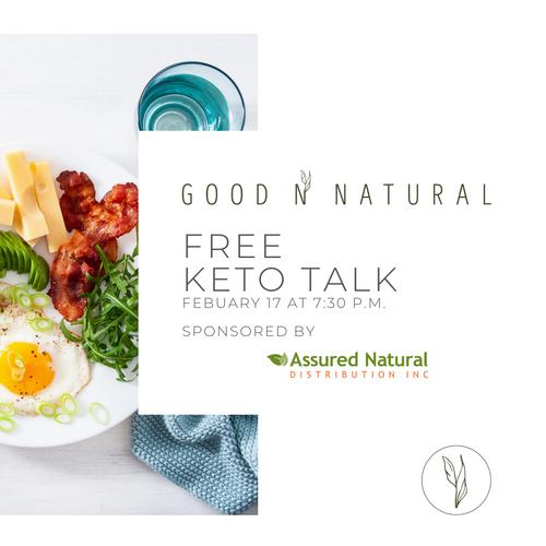 Good n Natural KETO Talk