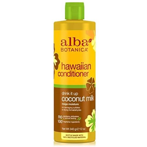 Alba Botanica Natural Hawaiian Conditioner Coconut Milk.