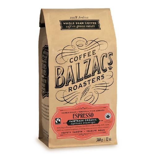 Coffee Balzac's Roasters Espresso Coffee is a 100% arabica whole bean coffee.
