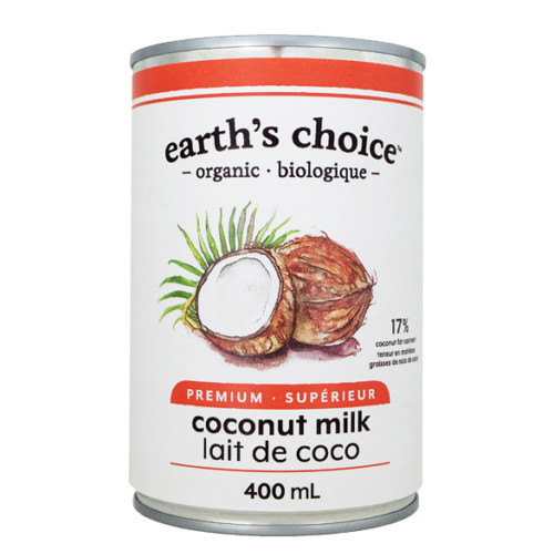 Earth's Choice Premium Coconut Milk is the perfect dairy free alternative.