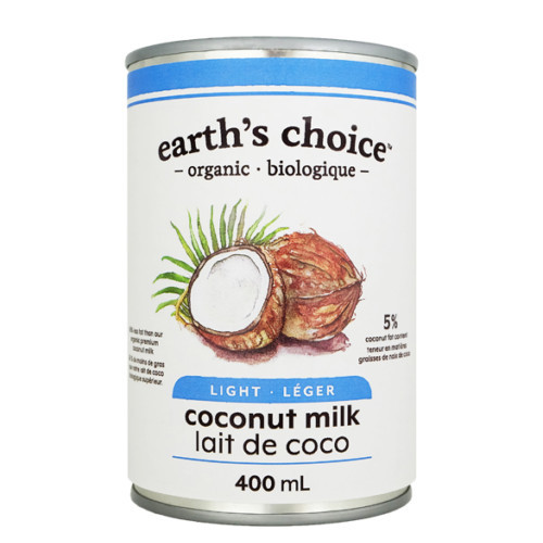 Earth's Choice Light Coconut Milk, is the perfect dairy free alternative.