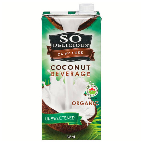 So Delicious Unsweetened Dairy Free Coconut Beverage is the perfect dairy alternative.