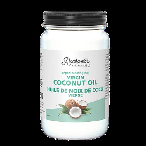 Rockwell's Organic Virgin Coconut Oil 414ml