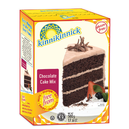 Kinnikinnick Gluten Free Chocolate Cake Mix