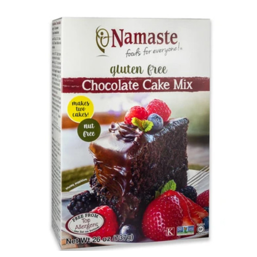 Namaste Gluten Free Chocolate Cake Mix