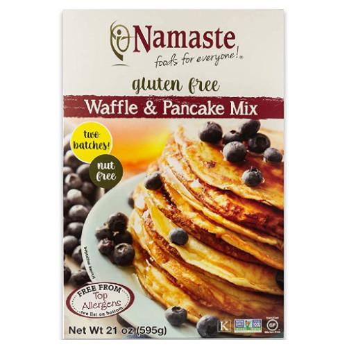 Namaste Gluten Free Waffle & Pancake Mix 595 grams Canada