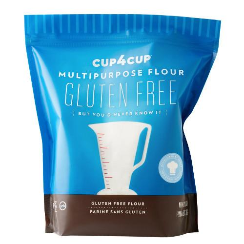 Cup4Cup Gluten Free Multipurpose Flour Blend has a neutral flavour.