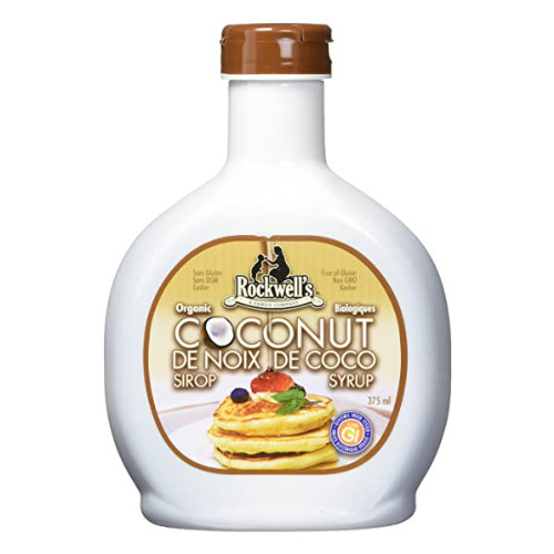 Rockwell's Organic Coconut Syrup is a very versatile sweetener.
