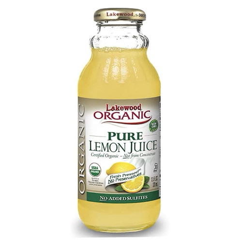 Lakewood Organic Pure Lemon Juice is not from concentrate and is made from the juice of pasteurized pressed fresh limes.