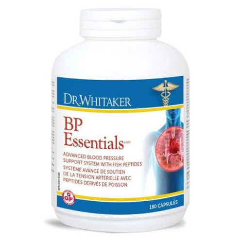 Dr. Whitaker BP Essentials 180 caps per bottle.