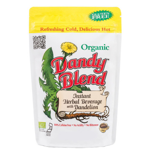 Dandy Blend Gluten Free Instant Herbal Blend has a full-bodied coffee flavour that is completely caffeine free.