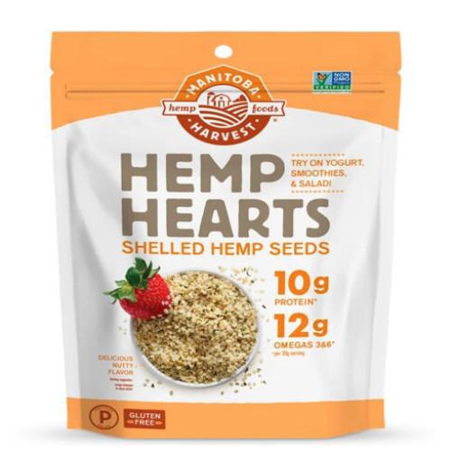 Manitoba Harvest Hemp Hearts Shelled Hemp Seeds are gluten free.
