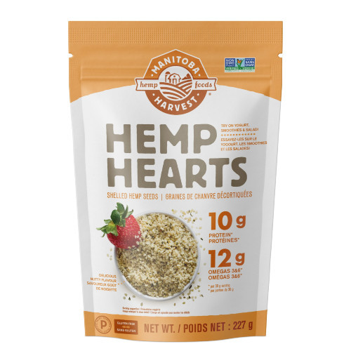 Manitoba Harvest Hemp Hearts Shelled Hemp Seeds are gluten free